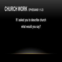 Church Work